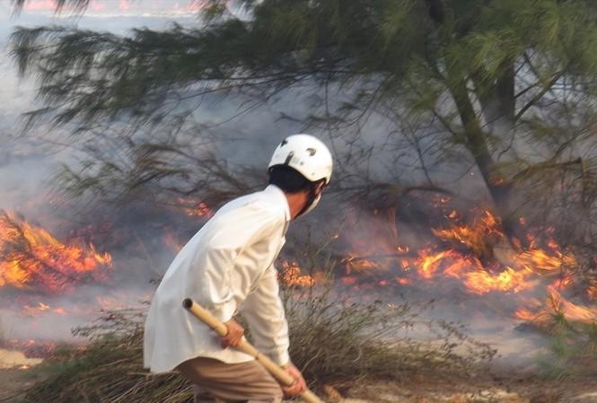 Lực lượng bảo vệ rừng luôn đối mặt với hiểm nguy rình rập