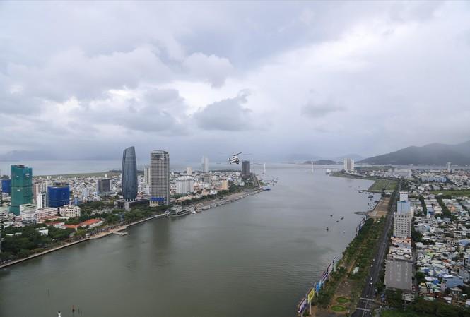 Một góc trung tâm thành phố Đà Nẵng nhìn từ trên cao Ảnh: Nguyễn Thành