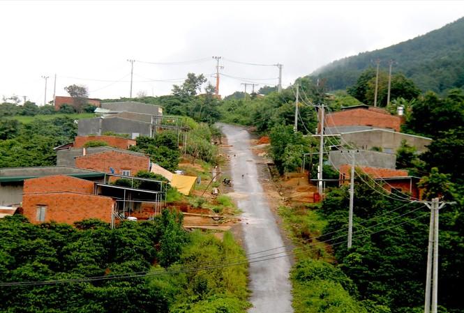 """Dự án """"giãn dân nội vùng"""" thuộc xã Đắk Long, huyện Đắk Hà, tỉnh Kon Tum"""