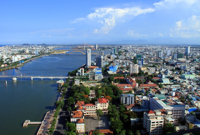Đà Nẵng đang mạnh tay phòng chống DN FDI đầu tư núp bóng. Trong ảnh, một góc Đà Năng nhìn từ trên cao Ảnh: Nguyễn Thành