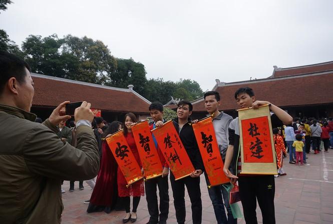 Văn Miếu Quốc Tử Giám dần trở thành một trong những không gian văn hóa sáng tạo lớn của Hà Nội Ảnh: NGUYÊN KHÁNH