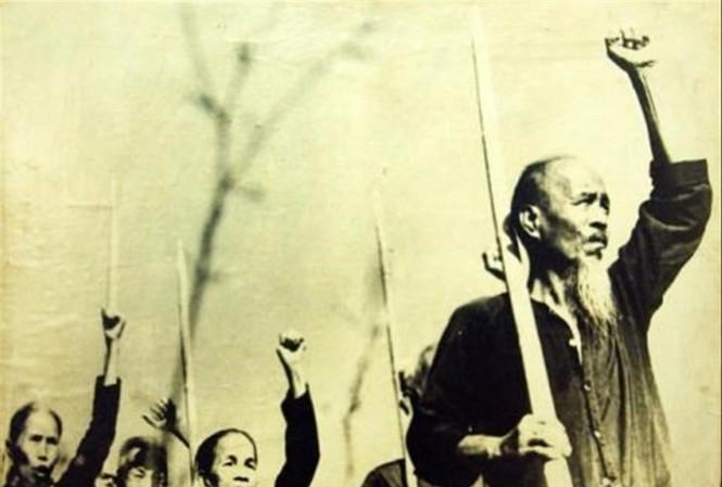 Người dân Nam Kỳ đứng lên khởi nghĩa Ảnh: Tư liệu