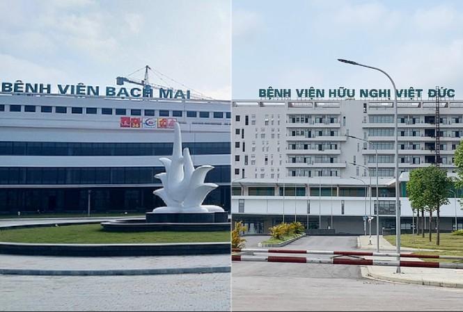 Bệnh viện Bạch Mai và Việt Đức cơ sở 2 tại Hà Nam