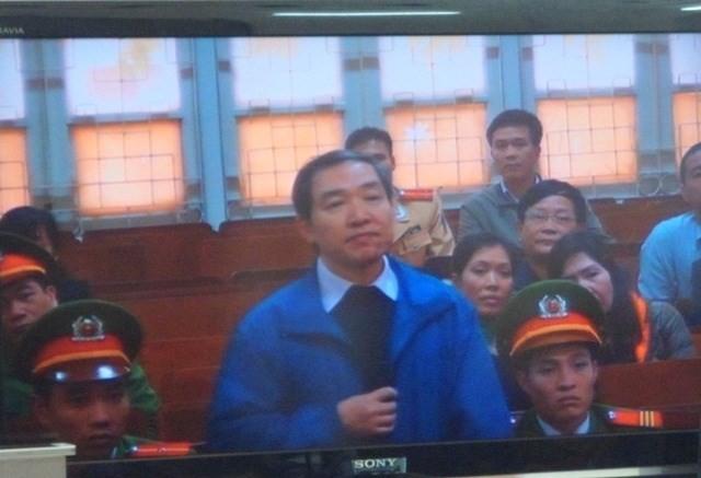 Dương Chí Dũng khai báo tại phiên tòa xử Dương Tự Trọng