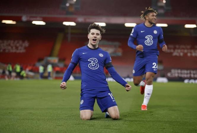 Bàn thắng duy nhất của Mason Mount đã đem về chiến thắng cho Chelsea. Ảnh: AP.