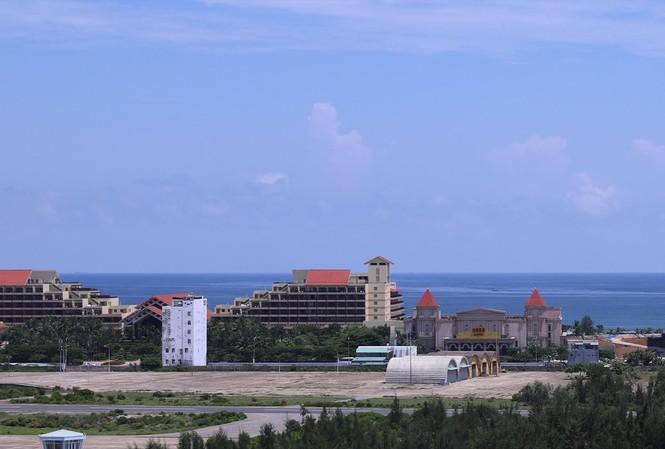 Lô đất ven biển Đà Nẵng được giao cho Cty liên doanh Du lịch và Giải trí quốc tế đặc biệt Silver Shores Hoàng Đạt xây dựng khu giải trí quốc tế.