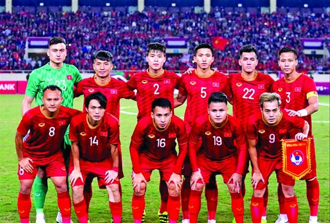Tuyển Việt Nam đạt thứ hạng lịch sử trong thời HLV Park Hang Seo