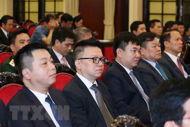 Các cán bộ quy hoạch Ủy viên Trung ương Đảng khóa XIII tham gia lớp bồi dưỡng kiến thức tại Hà Nội -  Ảnh: TTXVN
