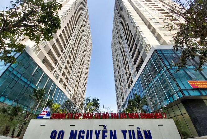 Chung cư 90 Nguyễn Tuân (Thanh Xuân, Hà Nội) nằm trong danh sách các chung cư bị thanh tra về phí bảo trì. Ảnh: PV