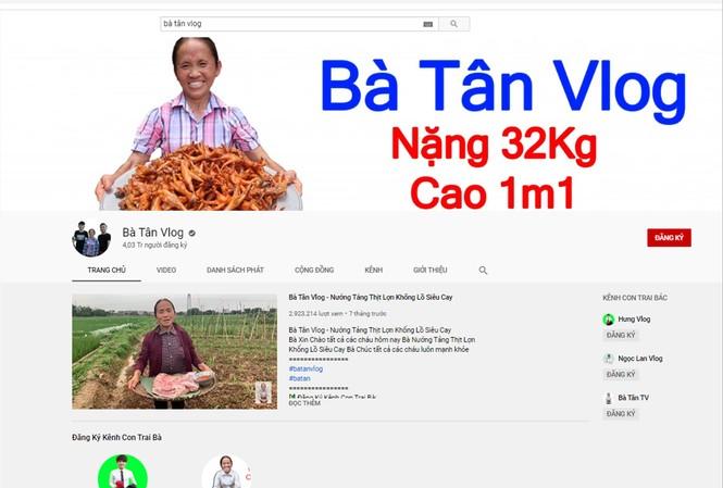 Các kênh Youtube kiếm tiền tỷ ở Việt Nam