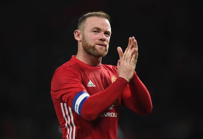Tiền đạo Wayne Rooney