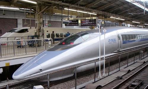 Tàu Shinkansen đỗ tại nhà ga trung tâm Tokyo (Nhật Bản) Ảnh minh họa: Wikimedia