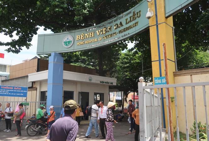 Bệnh viện Da liễu TPHCM- nơi xảy ra vụ việc