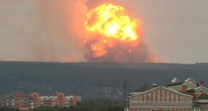 Vụ nổ động cơ tên lửa hạt nhân ngày 8/8 trên biển ở Arkhangelsk