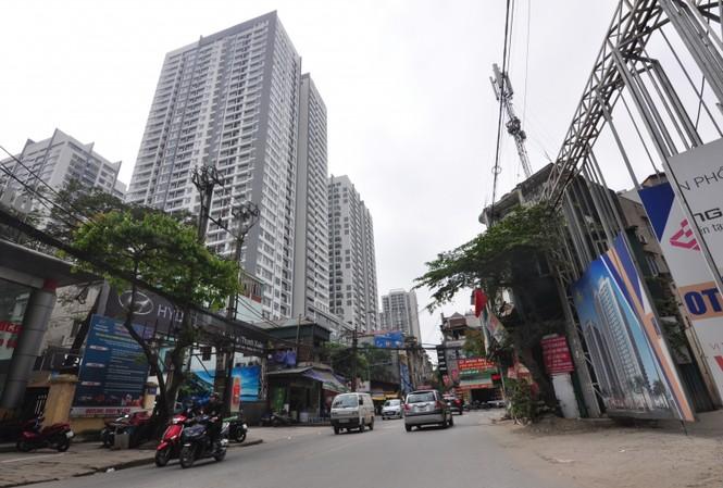 Nhiều chung cư cao cấp mọc lên trên đường Nguyễn Tuân sau khi cổ phần hóa