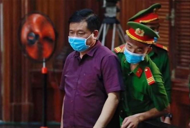 Ông Đinh La Thăng tại phiên tòa. Ảnh: Tân Châu