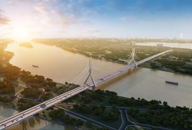 Cầu Tứ Liên, một trong những cây cầu nối quận Tây Hồ với huyện Đông Anh, đã được phê duyệt