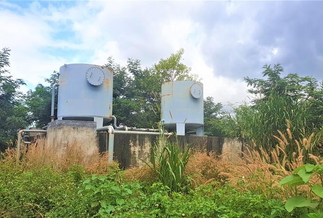 Công trình cấp nước tập trung ở Ea Pô bị bỏ hoang