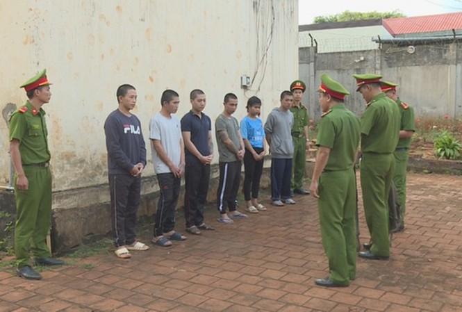 Các đối tượng tham gia trộm két sắt UBND xã Tam Giang