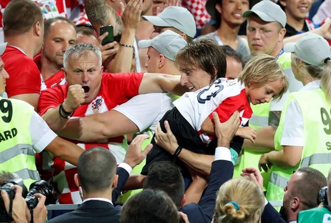 Đội trưởng Croatia, Modric và con gái