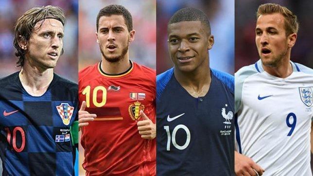 Chân dung 4 đội tuyển mạnh nhất thế giới