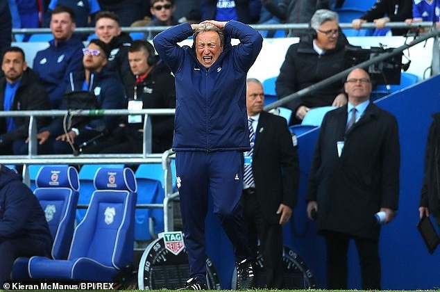 HLV Cardiff City, Neil Warnock thất vọng với kết quả trước Crystal Palace