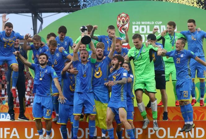 U20 Ukraine ngược dòng thắng U20 Hàn Quốc, vô địch World Cup