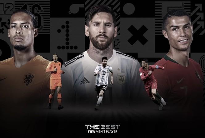 Lộ diện 3 cầu thủ xuất sắc nhất thế giới năm 2019