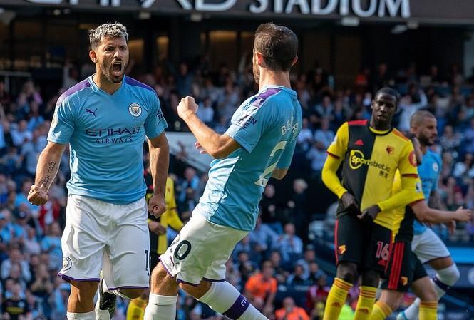 Kết quả Ngoại hạng Anh: Man City đè bẹp Watford với tỉ số không tưởng