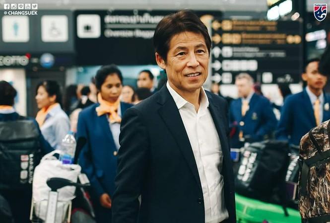 HLV Akira Nishino được Thái Lan tin tưởng.