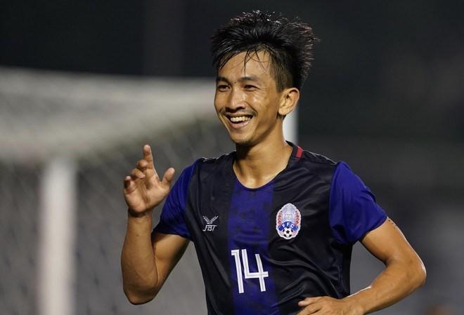 Keo Sokpheng tỏa sáng tại SEA Games 30. Ảnh: Zing