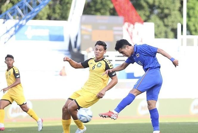 Thái Lan thắng đậm Brunei. Ảnh:: Vnexpress