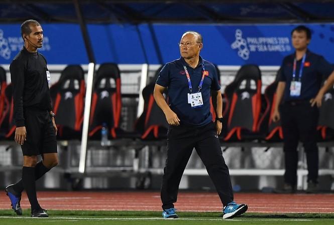 """HLV Park Hang Seo phải """"đau đầu"""" vì U22 Thái Lan. Ảnh: Tuấn Hải."""