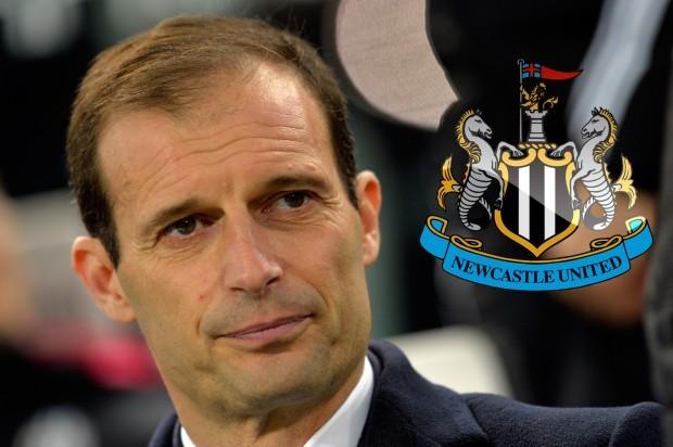 Newcastle sẽ có HLV Max Allegri nếu đổi chủ thành công.