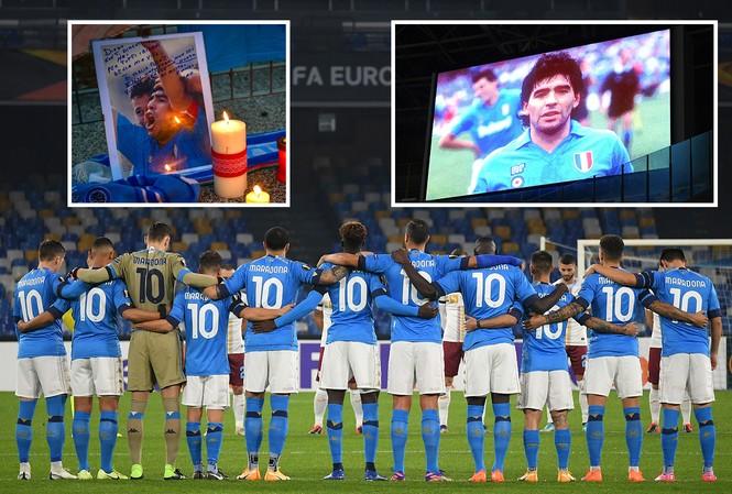 Napoli thắng đậm sau buổi lễ tri ân Maradona đầy xúc động