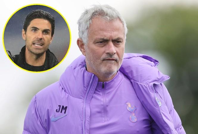 Jose Mourinho hạ thấp tầm quan trọng của trận derby với Arsenal.