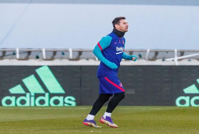 Messi phải tập riêng trước giờ đấu Bilbao