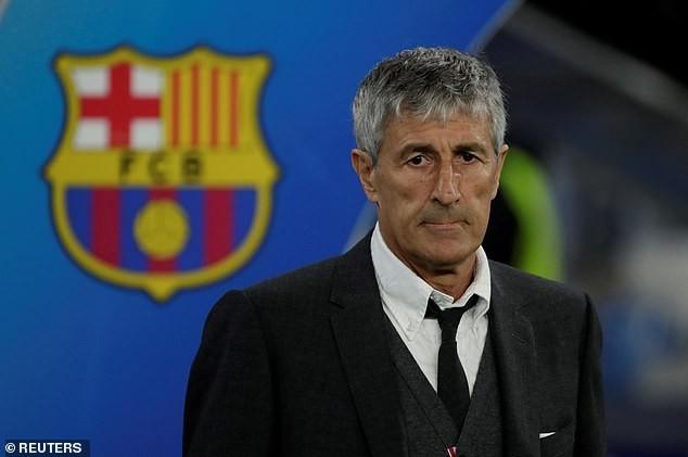 Barcelona không muốn trả tiền bồi thường cho HLV Quique Setien.
