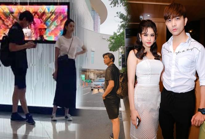 Tim và Trương Quỳnh Anh bị bắt gặp thân mật cùng nhau ở Thái Lan