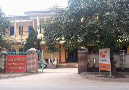 Tòa án Nhân dân huyện Minh Hóa, tỉnh Quảng Bình.