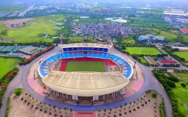 Các doanh nghiệp thuê đất của Khu liên hợp thể thao quốc gia Mỹ Đình, đang trong diện bị thu hồi theo quyết định của Bộ VH-TT&DL  Ảnh: H.Minh