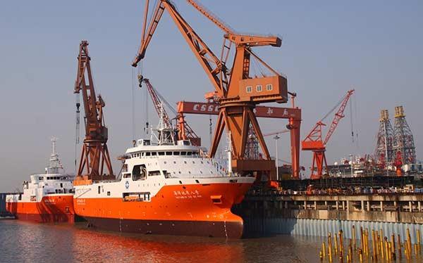 Tàu khảo sát Hải Dương 8 của Trung Quốc mới đây trở lại bãi Tư Chính, tiếp tục xâm phạm vùng đặc quyền kinh tế, thềm lục địa của Việt Nam   Ảnh: china Daily