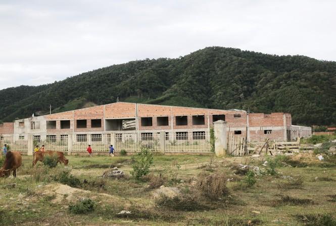 Các dự án tại khu công nghiệp Đại Kim (xã Sơn Kim 1) gần như bị bỏ hoang   Ảnh: H.N