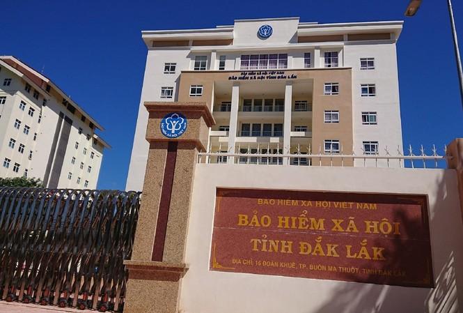 Trụ sở BHXH tỉnh Đắk Lắk