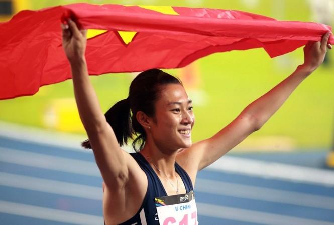 Lê Tú Chinh sáng cửa đoạt vàng SEA Games