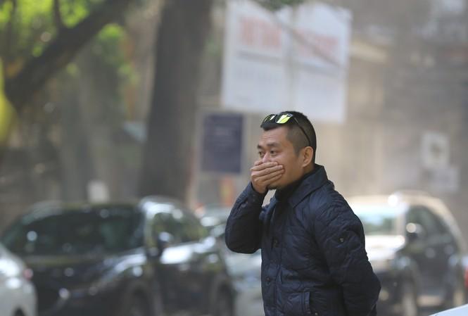 Ô nhiễm không khí nghiêm trọng tái diễn ở Hà Nội                Ảnh: Như Ý