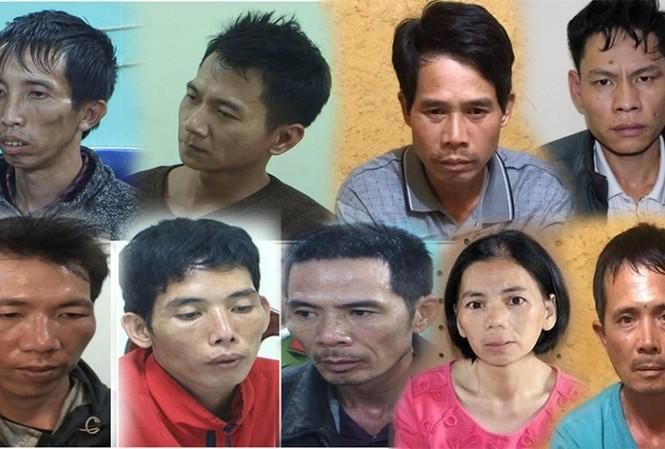9 bị cáo liên quan tới cái chết thảm của nữ sinh Cao Mỹ Duyên