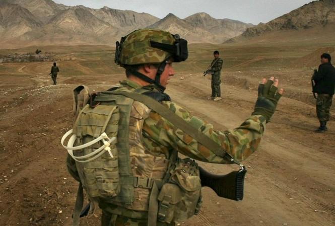 Căng thẳng Úc-Trung bắt nguồn từ nhiều vấn đề, trong đó có tranh cãi về việc lực lượng Úc lạm dụng bạo lực ở Afghanistan  Ảnh: The Age