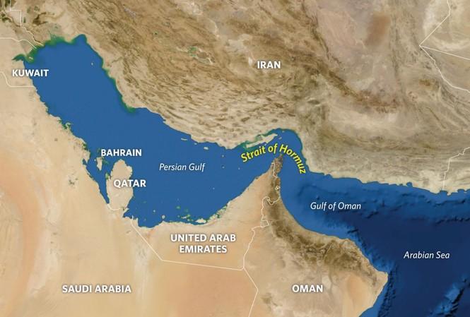 """Eo biển Hormuz tạo cho Iran một """"đòn bẩy"""" trước các lực lượng thù địch. Ảnh: Stratfor"""