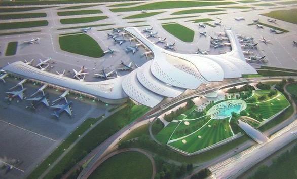 Dự án sân bay Long Thành chậm tiến độ, chậm giải ngân. Ảnh: P.V